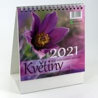 Květiny kalendář 2021