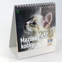 Mazlivé kočky kalendář 2021