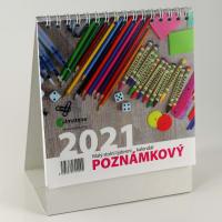 Poznámkový kalendář 2021