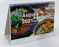 Asijská kuchyně kalendář 2021