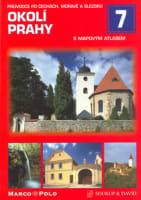 Okolí Prahy s mapovým atlasem