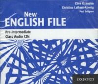 New English File Pre-Intermediate Class Audio CDs pouze CD