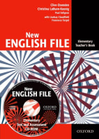 New English File Elementary Teacher´s Book + Tests and Assessment CD-ROM