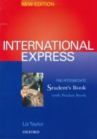 International Express Pre-Intermediate SB
