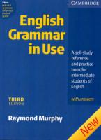 English Grammar in Use (third edition)