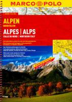 Alpy, severní Itálie 1 : 300 000