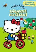Hello Kitty Zábavné počítání s plakátem a samolepkami
