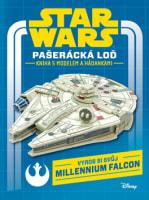 Star Wars: Pašerácká loď - Kniha s modelem a hádankami
