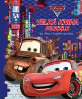 Auta 2 –  Velká kniha puzzle