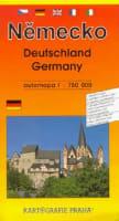Německo automapa