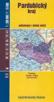 Pardubický kraj automapa 1:200 000 a plány měst 1:15 000