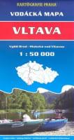 Vodácká mapa - Vltava 1:50 000