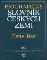 Biografický slovník českých zemí 4 (Bene-Bez)