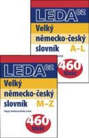 Velký německo-český slovník A-L, M-Z (1 + 2 díl)