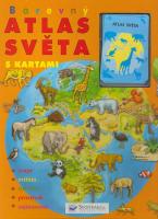 Barevný atlas světa s kartami