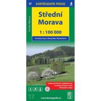 (17) - Střední Morava (turistická mapa)