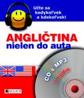 Angličtina nielen do auta – CD s MP3