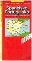 Španělsko Portugalsko 1:800 000