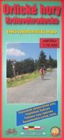 Orlické hory Královehradecko velká cykloturistická mapa