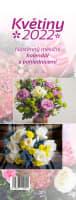 Nástěnný Květiny 2022 pohlednicový měsíční kalendář
