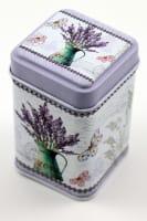 Plechová krabička levandule