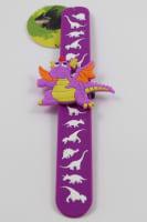 Náramek dino fialový