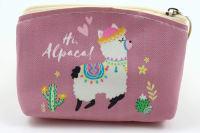 Klíčenka/peněženka hi alpaca!