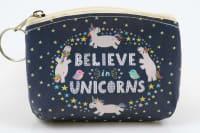 Klíčenka/peněženka believe unicorns