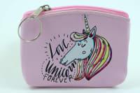 Klíčenka/peněženka love unicorn forever