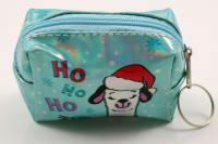 Klíčenka/peněženka vánoční lama