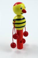 Píšťalka dřevo malá včelka