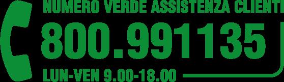 Numero Verde Assistenza Clienti