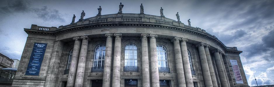 Stuttgart Opera House in Stuttgart, Germany