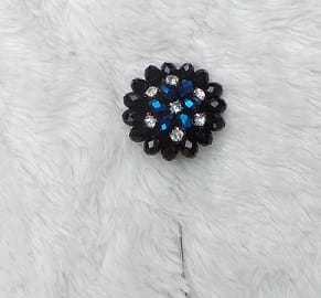 Black Brooch