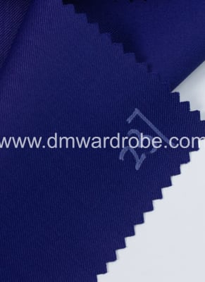 Suiting Prussian Blue Fabric