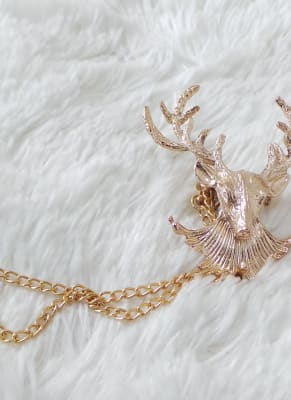 Deer Shaped Brooch