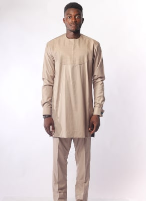 Regal Carton Colour Two-Piece Atiku Men's Wear