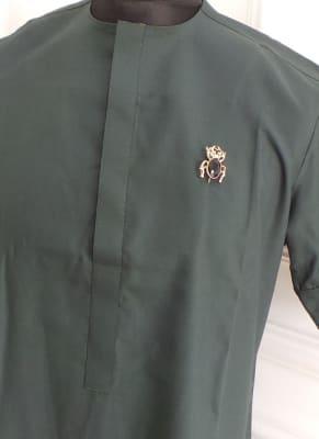 Green Men's Traditional Wear