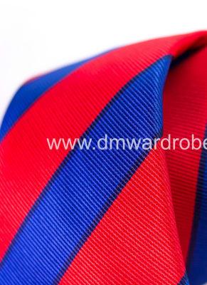 Red Blue Tie
