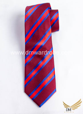 Red Blue Tie