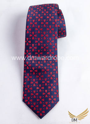 Blue Red Tie