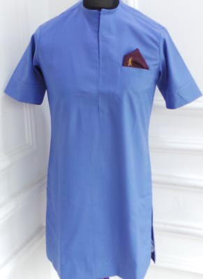Traditional men's attire in Powder Blue