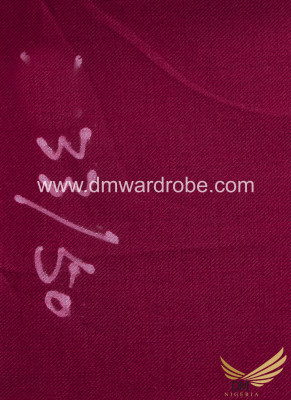 Suiting Maroon Color Fabric