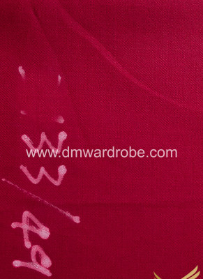 Suiting Carnelian Color Fabric
