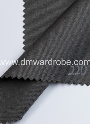 Suiting Dark State Grey Fabric