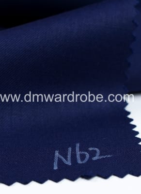 Suiting Denin Blue Fabric