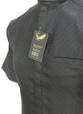 Men's Traditional attire in Black.