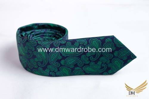 Green Blue Tie