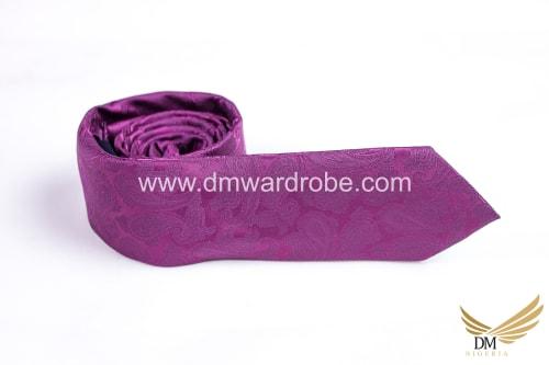 Fuchsia Pink Tie