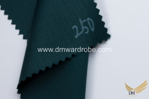 Suiting Phthalo Green Fabric